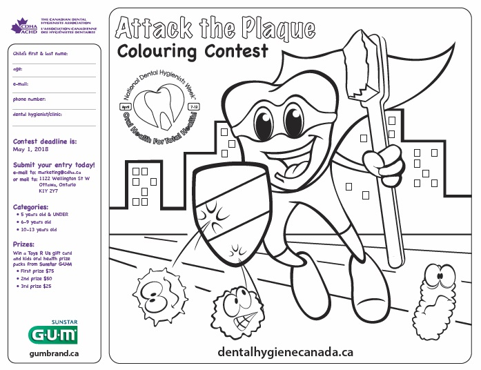 Coloring Contest for Kids - Great Prizes Available - Dental ...